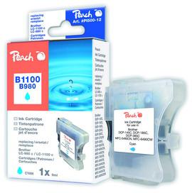 Cartuccia ciano per print c/brother lc980c lc1100c 12ml
