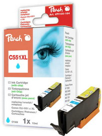 Cartuccia ciano per print c/canon cli 551 con chip 10ml