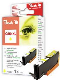 Cartuccia giallo per print c/canon cli 551 con chip 10ml