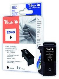 Cartuccia nero per print c/epson t040 stylus c62 17ml