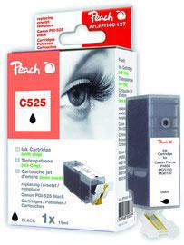 Cartuccia nera per print c/canon pgi525 bk con chip 19ml