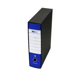 Registratore STARBOX f.to protocollo dorso 8cm blu STARLINE/sfuso