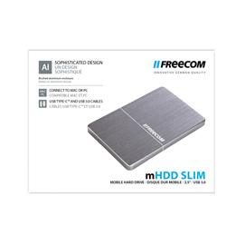 MHDD SLIM MOBILE DRIVE - 1TB USB 3.0-FREECOM SPACE GREY